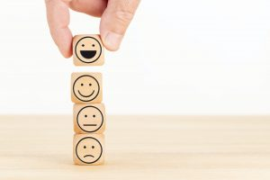 Customer service evaluation and satisfaction survey concept